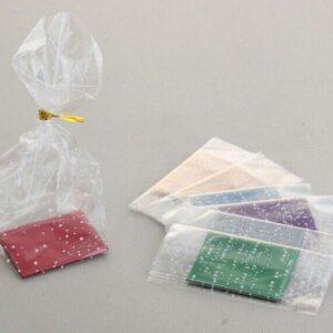 Прозрачный пакет с жестким дном 6*8*30 см