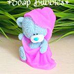 Мыло Тедди в полотенце